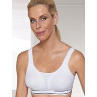 Amoena 654 Performance Sports Bra - White